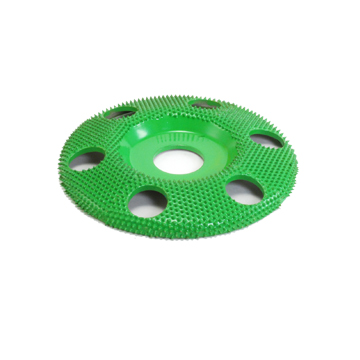 "4"" Disc Wheel W/ Holes Flat Face (Coarse Grit) 7/8"" Bore"
