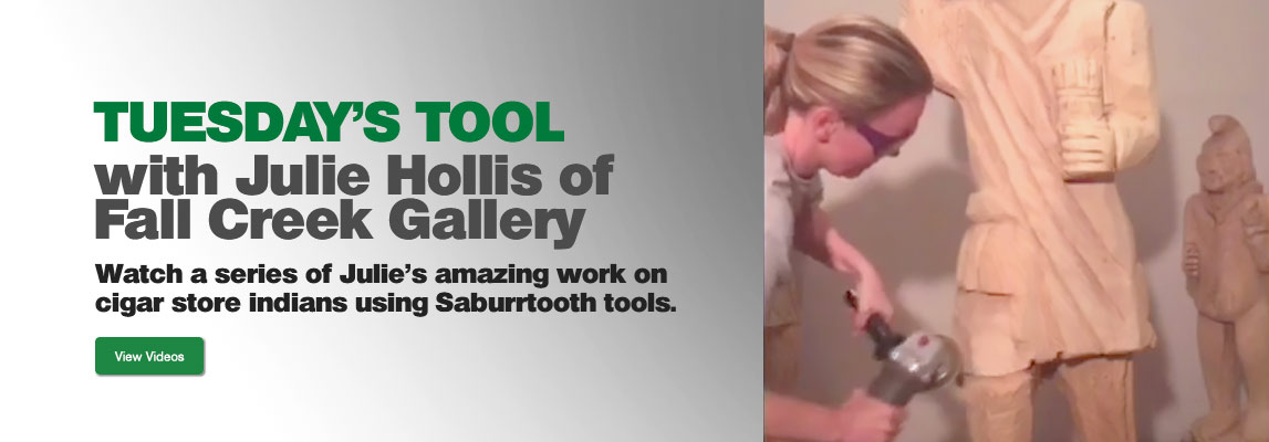 Saburrtooth Tool Demos w/Julie Hollis