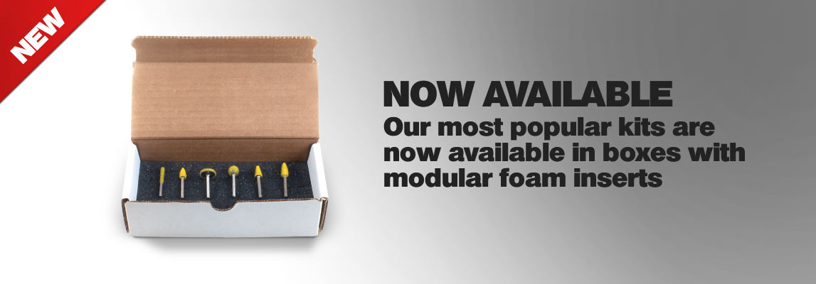 NEW Boxed Tool Sets with Modular Foam Inserts