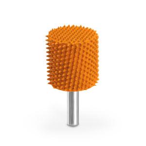 """Saburr Tooth 14C58LSE Orange 1//4/"""" Shank Cylinder Safe End 5//8/"""" Ex-Coarse Grit"""