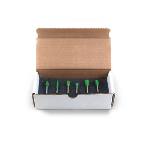"1/8"" Shank Starter Kit Boxed Kit (Coarse Grit)"