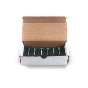 "1/8"" Shank Starter Kit 2 Boxed Kit (Coarse Grit)"